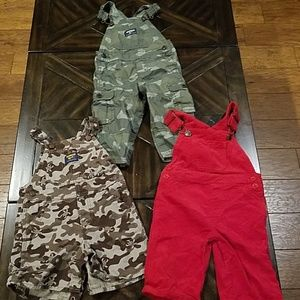 Boys overalls 12 to 18 months